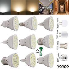 4W 5W 6W GU10 MR16 E26 E27 LED Spotlight Bulb 2835 SMD Lamp 110V 220V 12V RD40