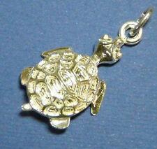 TARTARUGA-TOURTLE  grande ciondolo in argento 925 millesimi sterling silver