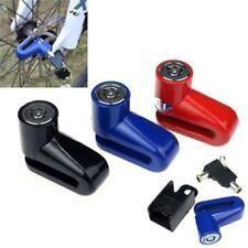 Motorcycle Bike Disk Brake Wheel Rotor Lock Anti-Theft Safety NEW Y