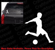 SOCCER Football FIFA Sticker Oval Die Cut Sticker Car Window Decal Vinyl SP025A