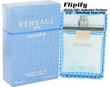 Versace Man Cologne Eau Fraiche 3.4 oz 100 ML 6.7 oz 200 ML MINI Gift Set NEW