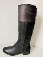 Tamaris Leder Reitstiefel Vario schwarz grau 37-41 Stiefel Boots black Phebus