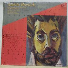 MARTIN BRESNICK String Quartet No.2, Wie Weben, Wir Weben - CRI 536 SEALED