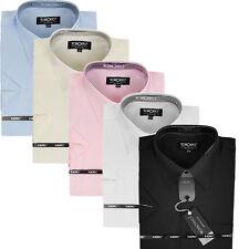 Herren Hemd Hemden Shirt Oberhemd Hochzeit Hemd Kurzarm New  (3)