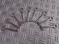 Einsteckschloss Schlüssel lang Buntbart für FH-Türen Zimmertürschlüssel NEU