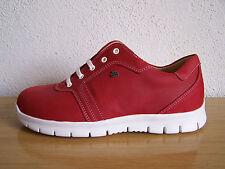 Finn Comfort Schuhe Relax Biscaya Indianred Wechselfußbett incl. Baumwollbeutel