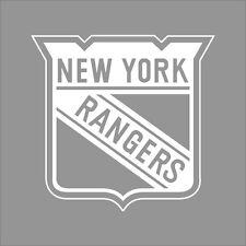 New York Rangers NHL Team Logo 1Color Vinyl Decal Sticker Car Window Wall