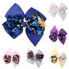 Baby Hair Clip Girls Bowknot Glow Sequin Cute Princess Accessories Kids Hairpins