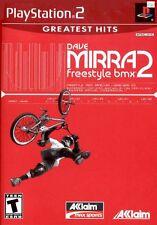 Dave Mirra Freestyle BMX 2, très bon PLAYSTATION 2, Playstation 2 JEUX vidéo