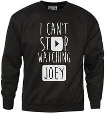 Je ne peux pas arrêter de regarder joey-vlogger star de la jeunesse et homme sweat