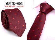 Nice Classic Men's 100% Silk  Jacquard Woven Necktie Nice Fashion Business Ties