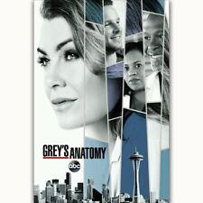 58232 Grey's Anatomy 2017 Season 14 Ellen Pompeo FRAMED CANVAS PRINT UK