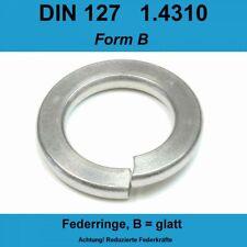 6,0 DIN 127 Federringe A2 Edelstahl Rostfrei Form B Federscheiben Sperringe f M6