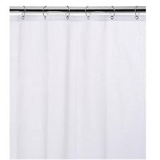 "New Heavy Duty Bathroom Shower Curtain 70""x72"" Vinyl Liner- Free Shipping!"