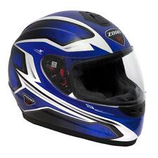 Zoan Thunder Full-Face Motocycle Helmet - Blue Graphic