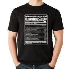 T-Shirt Unisex DOSIS BEARDED COLLIE Lebensergänzungsmittel by Siviwonder