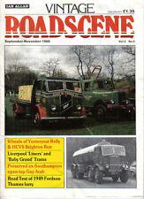 Vintage Roadscene Vol 2 No 8 Trams Guy Fordson Morris Cowley Ice Cream Van +