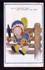 CHLOE PRESTON artist drawn Comic Child 1927 PPC