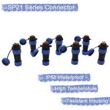 SP21 Bulkhead IP68 Waterproof Plug and Socket Connector 250V Multipole