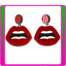 Earrings Neon 80s 1980s 90s Retro Rock Star Jewellery Ladies Costume Accessory