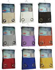 tenda ISIDE raso effetto seta shantung 1 pannello vari colori oscurante 140x290
