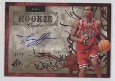 2006 SP Signature Edition #RG-TS Thabo Sefolosha Chicago Bulls Auto Rookie Card