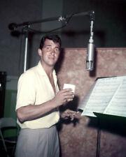 Dean Martin in Recording Studio Poster or Photo