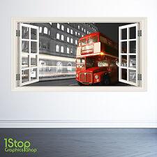 Londres Fenêtre Autocollant Mural Couleur complète - salon cuisine décoration