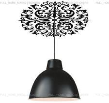 Elegant Vines Flower Ceilings Wall Stickers Home Art Decals TRANSPARENT&Reusable