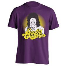 Sexual Chocolate Mr Randy Watson Soul Glo Purple Men's T-Shirt