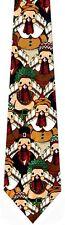 NEW! Thanksgiving, Funny Pilgrim TURKEYS Holiday Seasonal Novelty Necktie  986