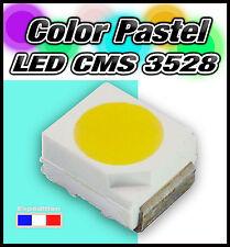 112IB# LED CMS 3528 couleur pastel bleu turquoise de 5 à 500pcs tuning auto moto
