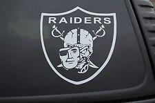 Raiders Skull Mask Sticker Vinyl Decal NFL Raider Nation Car Choose Size! (V390)