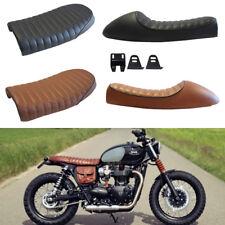 Vintage Cafe Racer Flat&Hump Saddle Seats For Honda CB Triumph Bonneville BMW GS