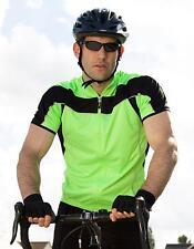 Mens Bikeshirt Full Zip Performance + COOL DRY Gewebe | SPIRO