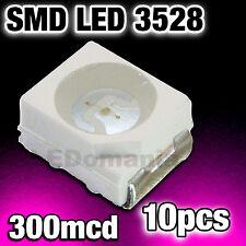 178/10# LED rose CMS 3528 10pcs --- 300mcd Pink smd Plcc-2 TL