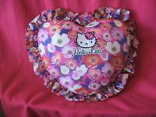 Sanrio Hello Kitty Pillow Cushion Anemone Vintage Collectible '76, '02  PREOWNED