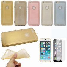 Apple iPhone 6 / 6 PLUS TRASPARENTE GLITTER MORBIDA SLIM GEL Silicone Cover