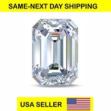 SUPER QUALITY LOOSE CZ U.S.A SHIPPER NOT 5 A CUBIC ZIRCONIA EMERALD STEP 7 A