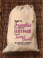 Personalised Bridesmaid Gift Bag -  Various Sizes -Frankie Design