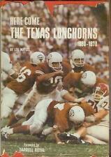Here Come The Texas Longhorns  UT Football  Austin Lou Maysel 1st 1970