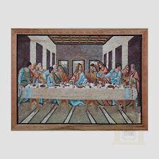 L'ULTIMA CENA mosaico fatto a mano arte FOTO PIETRA NATURALE MOSAICO Decorativo