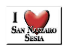 CALAMITA PIEMONTE FRIDGE MAGNET MAGNETE SOUVENIR LOVE SAN NAZZARO SESIA (NO)
