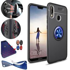 Car Magnet Ring Holder Phone Case for Huawei P20 Mate 9 Shockproof Slim Premium