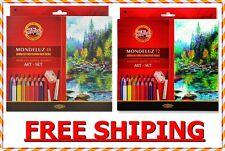 Mondeluz koh-i-noor coloured pencils 72 colours 48 colours 3713, 3714 2 wariatio