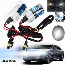 2pc 35W/55W HID Xenon Light Headlight Bulbs H1 H3 H4 H7 H8/H9/H11 9005 9006 9012