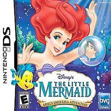 Disney's The Little Mermaid Ariel's Adventure (Nintendo DS, 2006) Cartridge Only