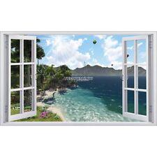 Sticker fenêtre déco Bateau mer réf 5401 5401