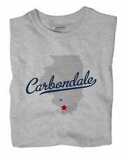 Carbondale Illinois IL Ill T-Shirt MAP