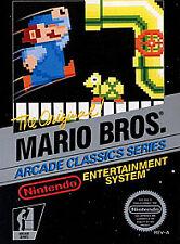 MARIO BROS. Nintendo NES Game Cartridge